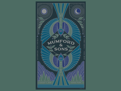 Mumford and Sons Missoula poster
