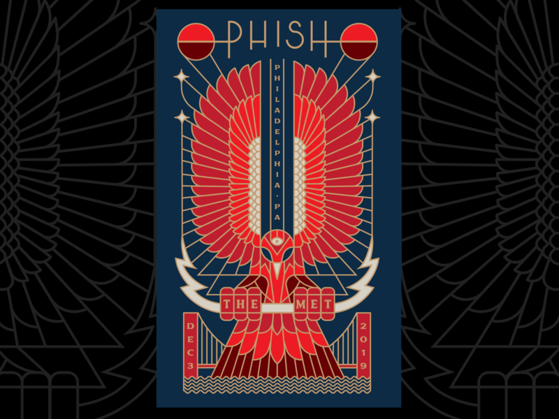 PHISH PHILLY illustration
