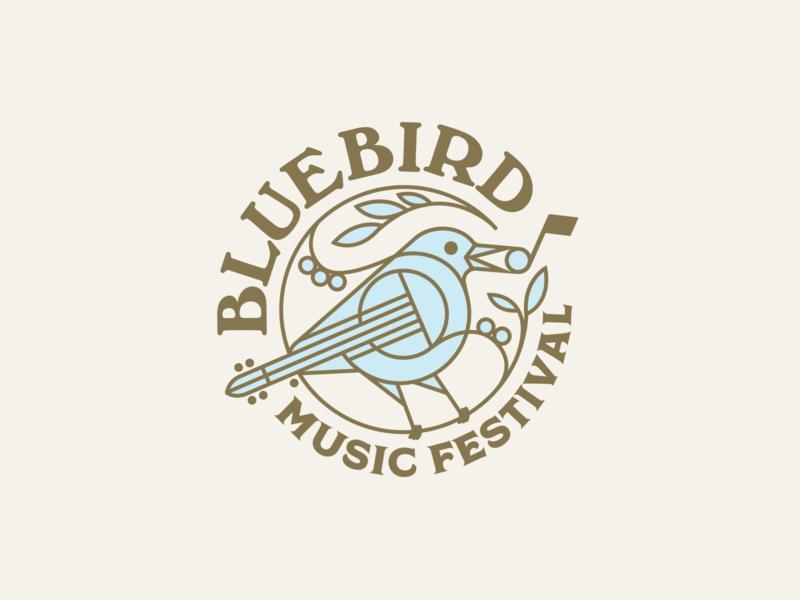 Bluebird Music Festival music bluebird festival mark logo