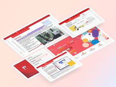PDFmaster pages display pdf ui