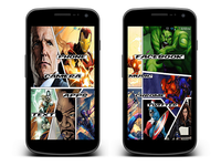 Avengers Android Theme