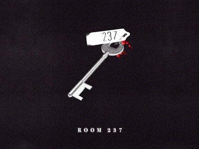 Room 237 collage key title podcast horror