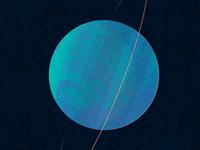 uranus planets solar system science illustration texture