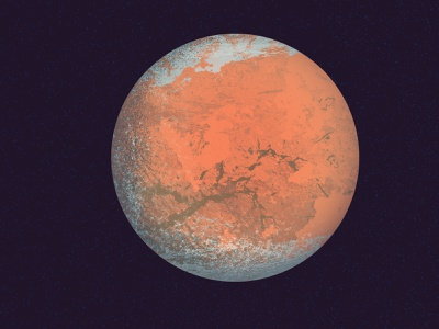 mars planets solar system science astronomy illustration texture