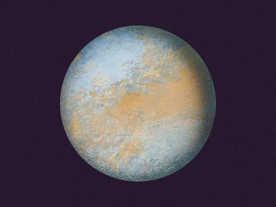 venus planets solar system astronomy science illustration texture