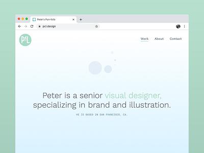 new portfolio! website portfolio