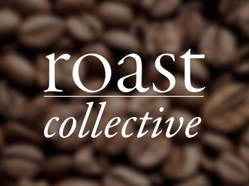 Roast Collective Logo logotype roast branding logo coffee