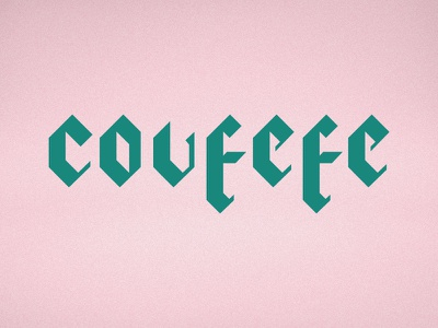 covfefe blackletter typography trump twitter typo