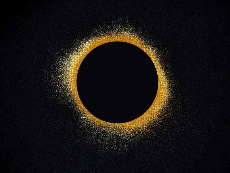 the eclipse is coming astronomy lunar solar dark gritty texture eclipse