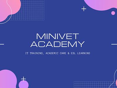 Youtube Thumbnail Design minivet academy minivet academy adobe illustrator flat vector illustrator illustration graphic design design designs youtube thumbnail youtube banner