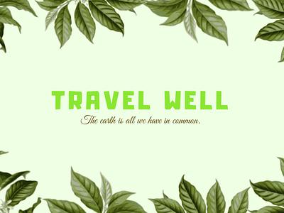 Youtube Thumbnail Design for Travel Well youtube branding youtube banner youtube thumbnail adobe illustrator flat vector illustrator illustration graphic design design