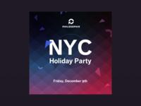 NYC Holiday Party Digital Card