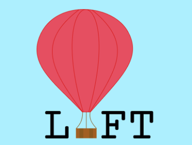 Lift vector logo illustration design