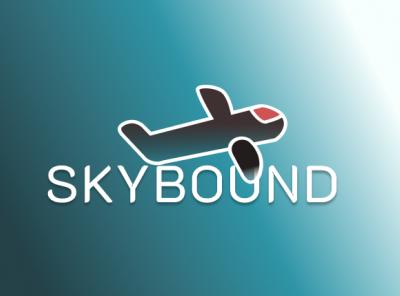 Airline illustration vector logo design