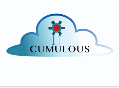 Cloud Computing Logo illustration vector logo design
