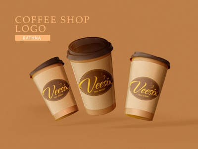 Coffee shop Logo typography illustrator graphic design art logo ui vector illustration flat design