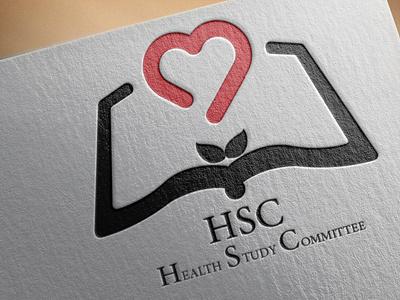 Health Study Committee illustration logo design