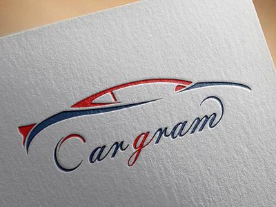 Car magazine logo logo illustration design