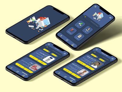 Doctor finder app ui design