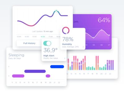 Smart Baby Sensor Concept App