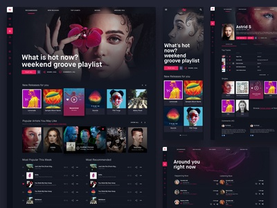 Naked Groove: Online Music Streaming Platform