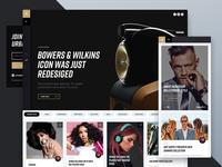 Urban Culture News Website WIP