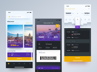 Flight Booking App flying schedule purchase compare ticket boarding pass book travel airplane fly flight