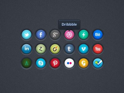 Social Icons V2