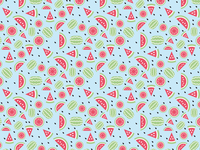 pattern seedless watermelon