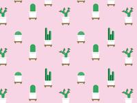 Cactaceous pattern