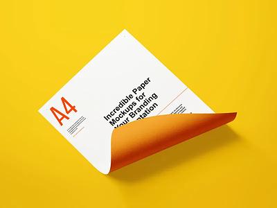 Free Paper Letter Mockup digital art letter mockup mockup