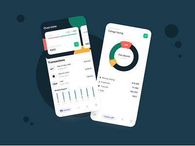 Wallet App uiux uxdesign ui design ui  ux mobile mobile ui uidesign mobile app design ui popular design minimal app