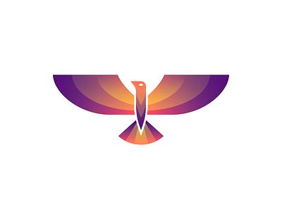 Bird wings vector bird illustration minimal