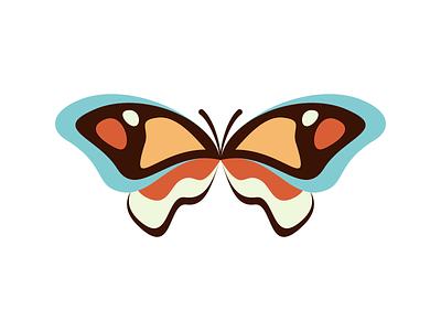 Butterfly vector butterfly illustration minimal