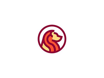 Lion Emblem vector minimal logo lion head lion