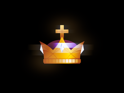 Crown illustration shiny crown vector king