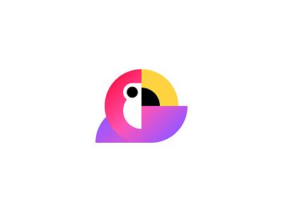 Bird Logo logo vector minimal icon color bird logo bird