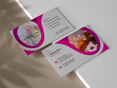 beauty spa Business Card Design beauty care beauty natural beauty naturally natural nature free business card elegant business card creative business card brand card maker printing identity design visiting custom luxury personal identity template business card cards