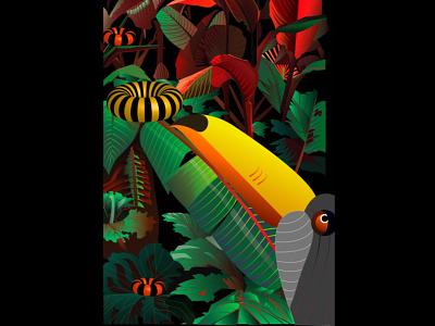 Series : Surreal vibrations of nature icon design branding website ux vector procreate app procreate adobe-illustrator illustration