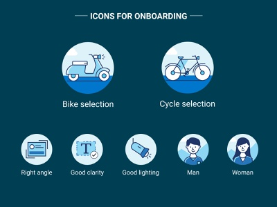 Icon set for an onboarding project onboardingicons onboarding ui mobileappdesign mobile graphical deliveryappicons android mobileapp ui ux design vector adobe-illustrator illustration
