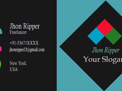 Business Card vector design logo business card design branding typography business cards illustration