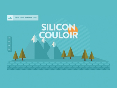 Silicon Couloir Landing Site