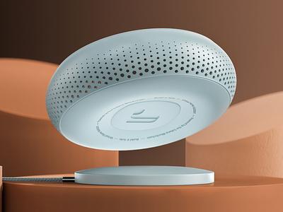 Home Speaker Concept modeling product octane cinema4d c4d 3d aharmon