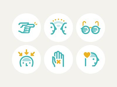Moodnotes : Thinking traps illustration mental health mind flat moodnotes icon