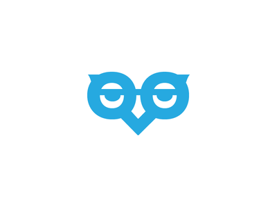 Search Books Owl Logo Mark