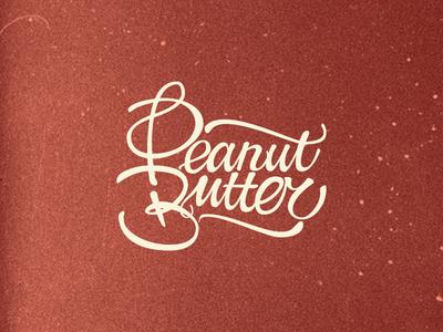 Peanut Butter Lettering
