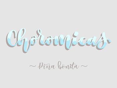 Choromicas  quote galicia letter challenge art brush calligraphy brushpen lettering