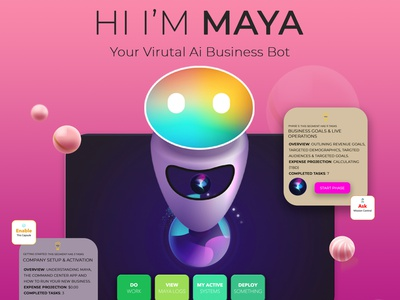 Meet Maya, your virtual business assistant business ai entrepreneur