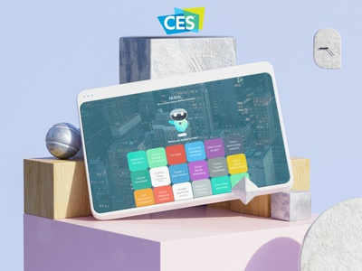 Maya is coming to CES product branding 3d illustrator ces2021