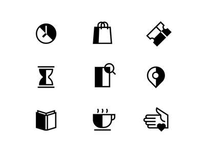 FOMU — Fotomuseum Antwerp — Iconography white black iconography motion minimal lottie flat icon vector design illustration branding animation grid